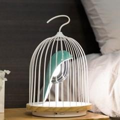 DAQI 진구 조명 블루투스 스피커 (새장조명스피커) - 파랑새