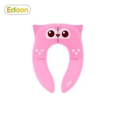 프렌즈 휴대용 접이식 유아 변기시트 커버 올리핑크