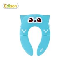 프렌즈 휴대용 접이식 유아 변기시트 커버 올리블루
