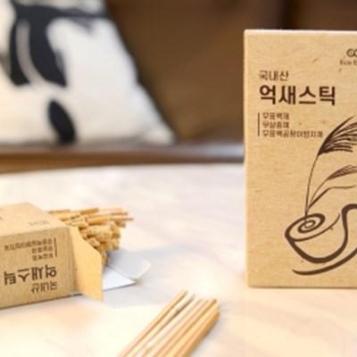 친환경 일회용 천연억새 커피스틱(150개)