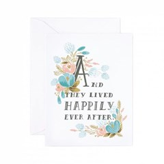 Happily Ever After Card 웨딩 카드