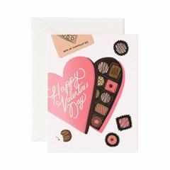 Valentines Day Chocolates Card 발렌타인 카드