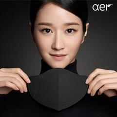 [아에르] 어드밴스드 KF94 마스크 블랙 10매(1매 개별포장)