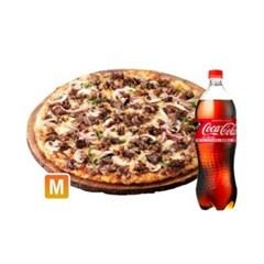 [도미노피자] (오리지널)리얼불고기 피자 M + 콜라1.25L