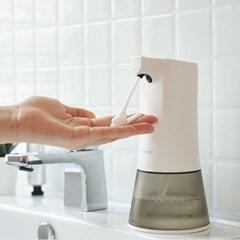 간소 자동 손세정기 거품형 핸드워시 욕실 디스펜서_(1446063)