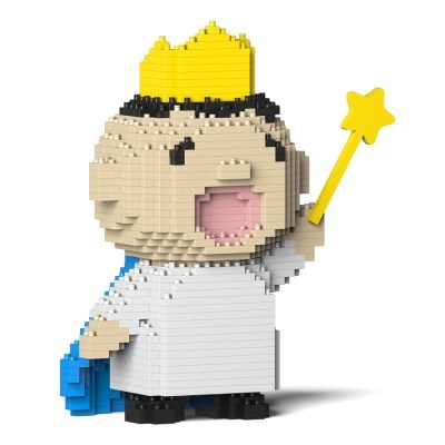 제카 - 왕관 별 민나노타보 블럭 (소형)