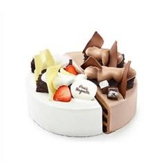 [파리바게뜨] 초코반딸기반케이크