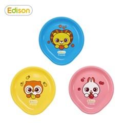 프렌즈 휴대용 유아식기 플레이트 간식접시 그릇 3종