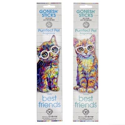 고네쉬 향스틱 고양이 디자인 몰리&윌로