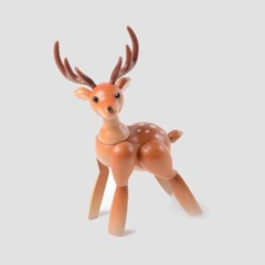 mufun 애니멀피규어 시리즈 - 어여쁜 꽃사슴