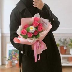 장미&라넌큘러스 비누 꽃다발