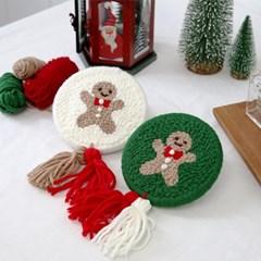 펀치니들 DIY세트 겨울시리즈 쿠키_(373915)