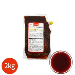 서브큐 매운 떡볶이용 소스 2kg x 1봉