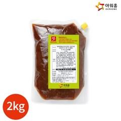 아워홈 행복한맛남 쇠고기맛 쌀국수용 육수 2kg x 1봉