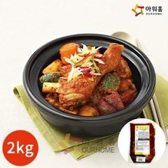 아워홈 행복한맛남 닭조림 양념장 2kg x 1봉