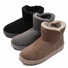 kami et muse Suede short fur boots_KM20w250