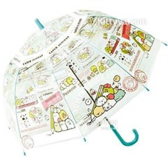 스밋코구라시 돔타입 비닐 장우산 (55cm/반자동)