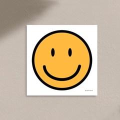 스마일 캔버스 액자 돈들어오는 행운을 부르는 그림
