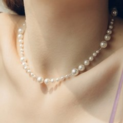 shooting pearl necklace