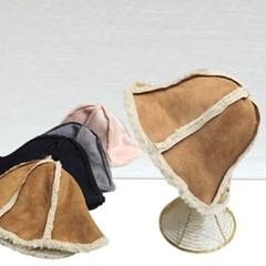 양털 스웨이드 무스탕 뽀글이 버킷햇 벙거지 모자