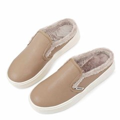 kami et muse Fur backless sneakers_KM20w253