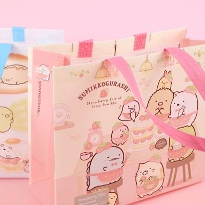 스밋코구라시 귀여운 미니부직포 쇼핑백 3탄 4개세트_(1802885)
