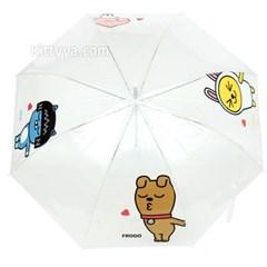 카카오프렌즈 러브포에버 POE 장우산 58cm