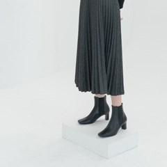 [HAND MADE] 루카스 첼시부츠 블랙 (6,9cm)