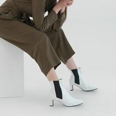 [HAND MADE] 루카스 첼시부츠 화이트 (6,9cm)