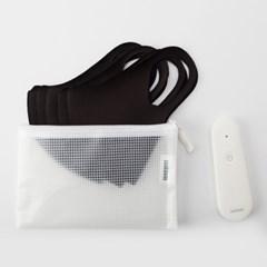 단순생활 개인방역키트 휴대용 살균기 UV마스크 5장