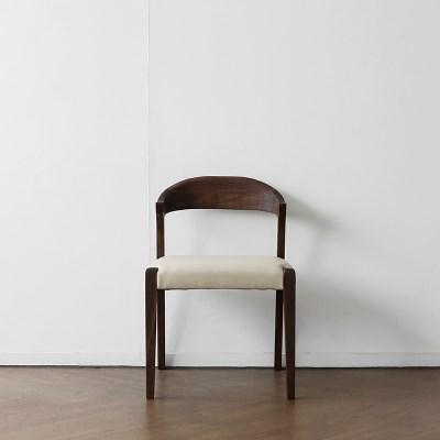 [헤리티지월넛] AJ형 의자 아이보리