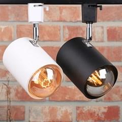 LED 레일조명 자유봉 원통 1등 카페 매장조명_(2005847)