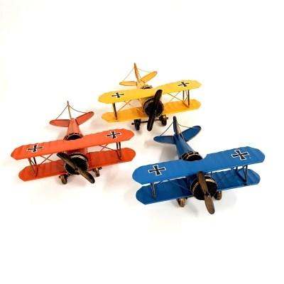빈티지 철제 알바트로스 비행기 데코 소품 3color