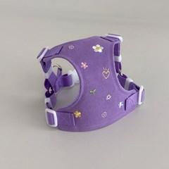 Daisy garden harness (violet)