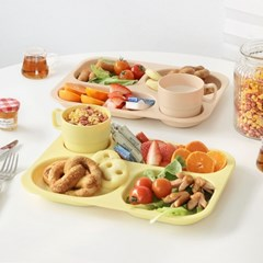 냠냠 다이어트 식판+컵 세트 3color 택1