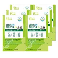 리얼닥터 네이쳐 키즈 면역 유산균 19 2g*20포 6박스 / LGG 유산균