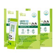리얼닥터 네이쳐 키즈 면역 유산균 19 2g*20포 3박스 / LGG 유산균