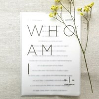 WHO AM I Sticker SET.
