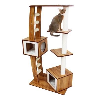 아이리스 4단 캣타워 스크래처 고양이 하우스 QQ81036_(1871829)