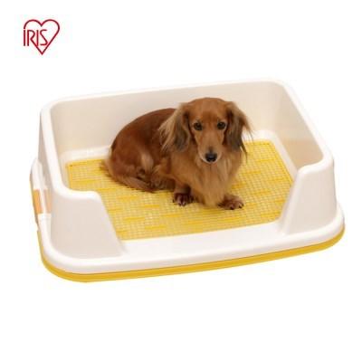 아이리스 커버형 강아지화장실 배변판 옐로우 TRT-500_(1871499)