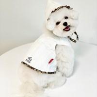 [러브핫핏] 리버시블 플라워 누빔 조끼+모자 세트