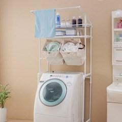 아이리스 다용도 세탁기 선반 바구니세트 LRB-19P_(1871945)