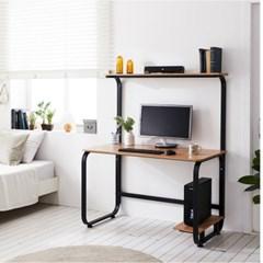 홈피스 보급형 가정용책상 선반책상 책상 재택근무용_(3245012)