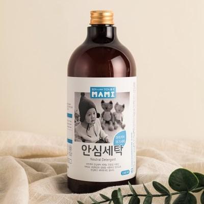 에코비엠 MAMI 마미케어 안심세탁 아기세제 1000ml