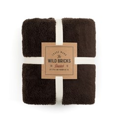 BS FLEECE BLANKET (brown)
