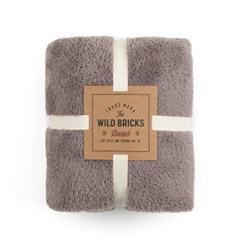 BS FLEECE BLANKET (light grey)