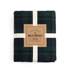 BLACK WATCK BLANKET (green)