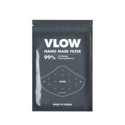 VLOW 숨 쉬기 편한 방역 마스크 추가 필터 5매입