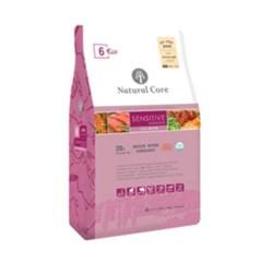 네츄럴코어 사료 ECO6 s/s 살몬 S바이트 2.4kg