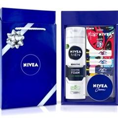 니베아 립에센스 자연스러운 립밤 크림 선물세트